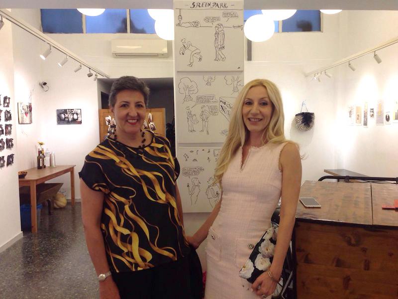Alexandra Kollaros pop up exhibition Ro Art Space Thessaloniki
