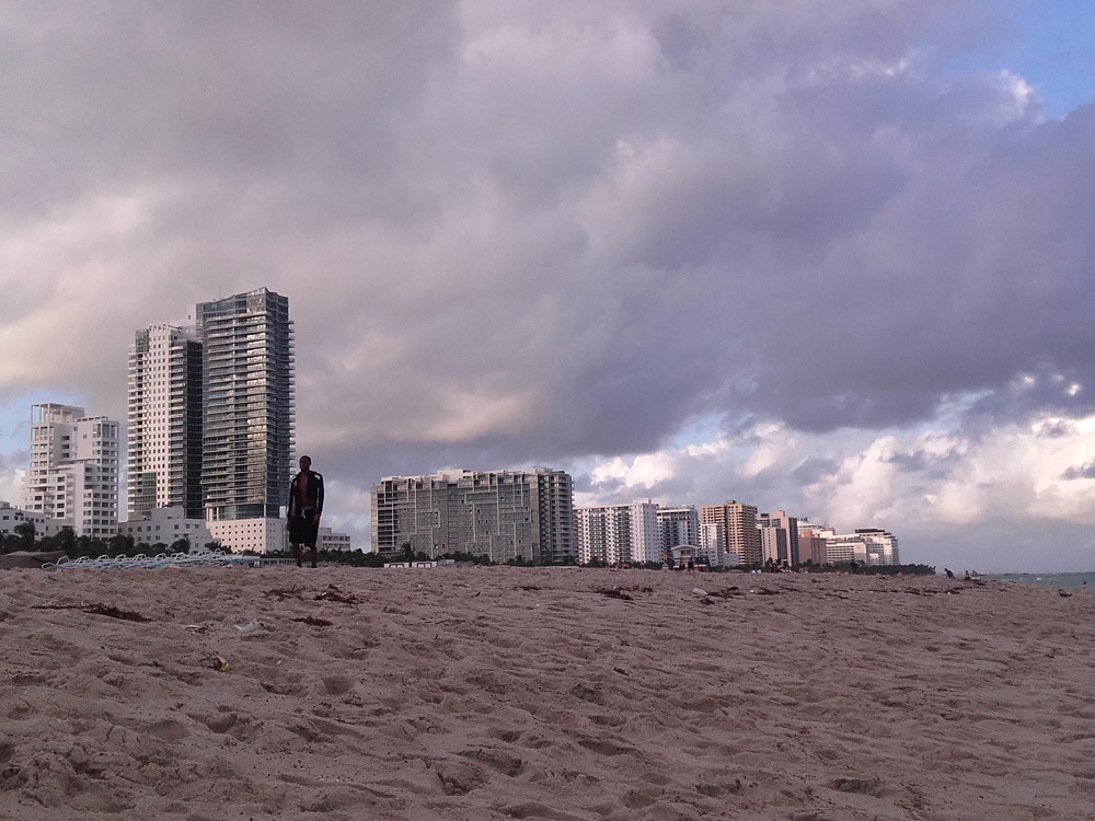 South Beach Miami view